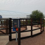 Omheining trainingsmolen - Fencing horsewalker - Type R3